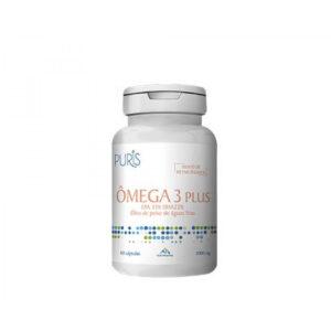 Ômega 3 Plus 60 cápsulas 1000 mg Puris